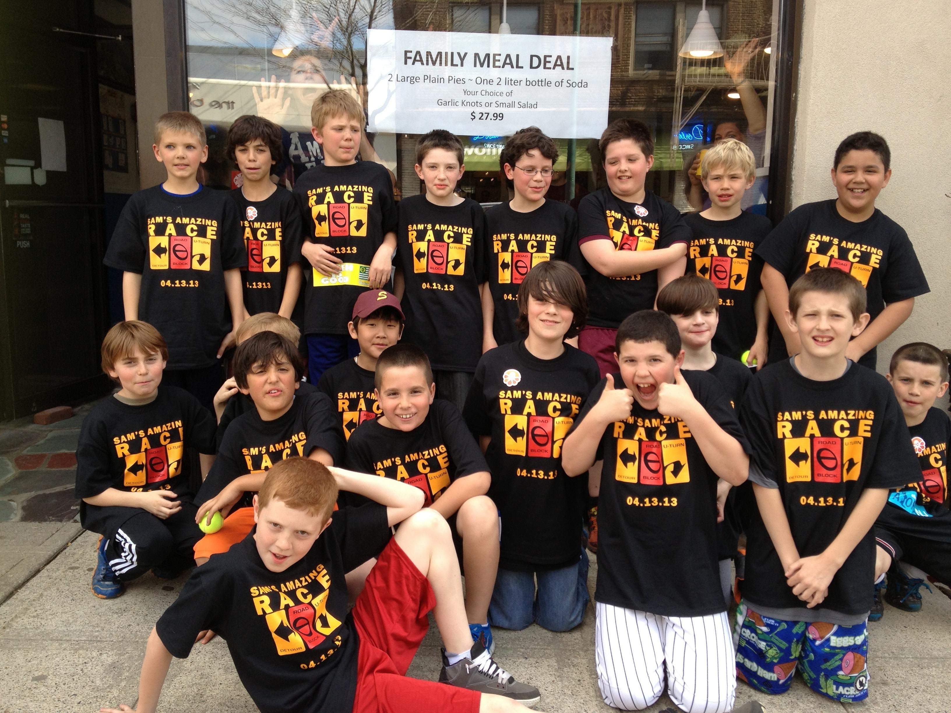 Custom T Shirts For Sams Amazing Race Shirt Design Ideas