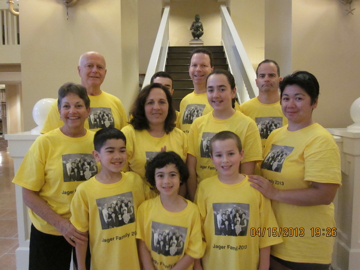 Jager Clan At Cape May Buffet, Disneyworld T-Shirt Photo