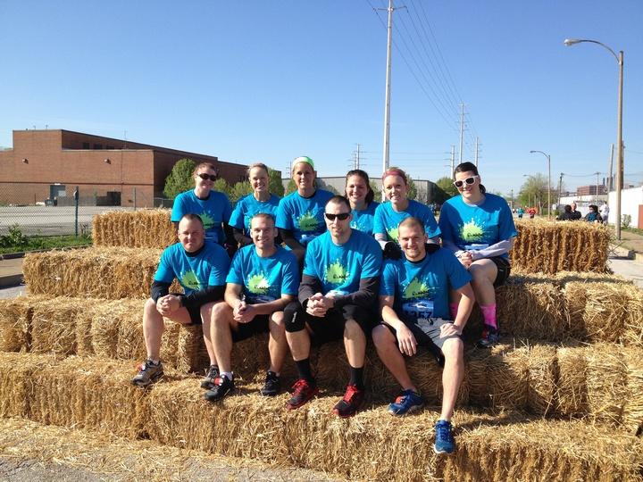 Team Runnin' Dirty T-Shirt Photo