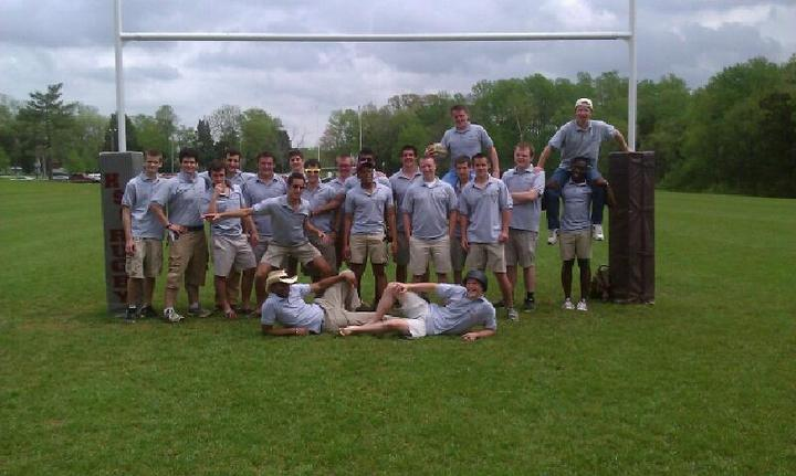 Hampden Sydney College Rugby T-Shirt Photo