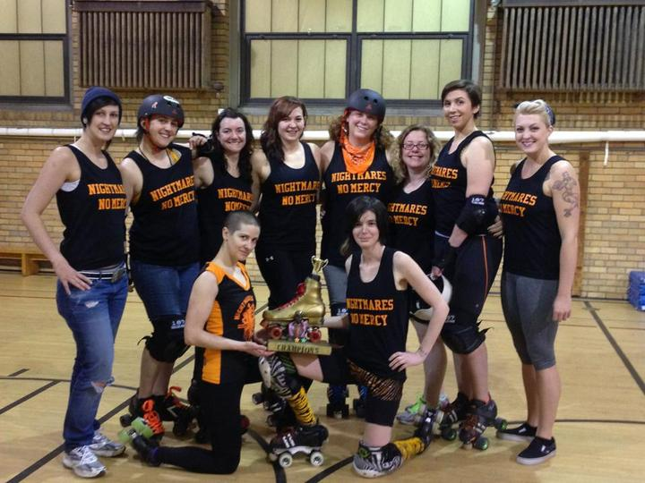 New Hampshire Roller Derby   Nightmares On Elm St. T-Shirt Photo
