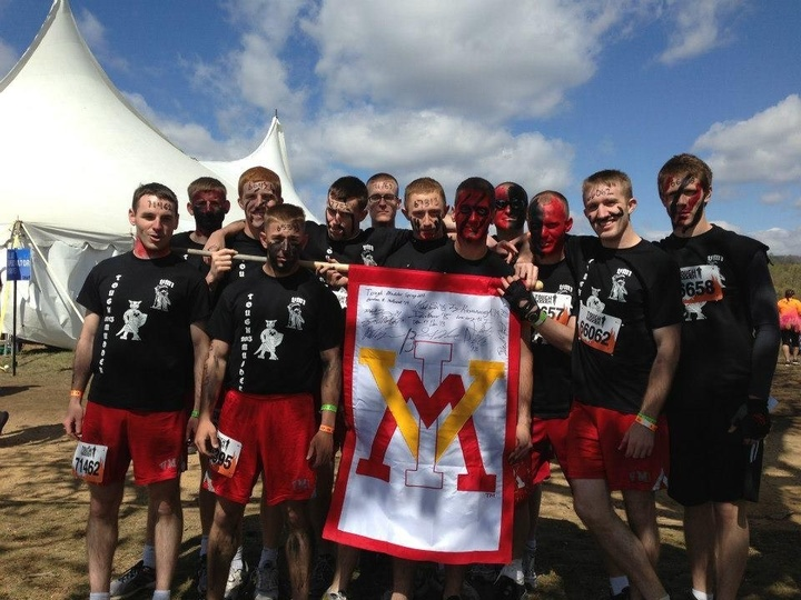 Vmi Tough Mudder Team Sp2013 T-Shirt Photo