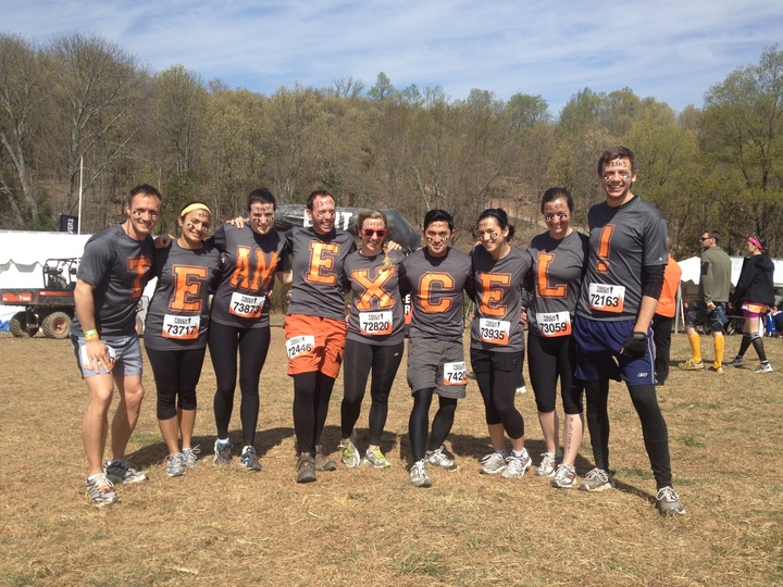 Tough Mudder   Team Excel! T-Shirt Photo