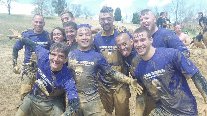 Momo's Mudders Get It Done At Tough Mudder Mid Atlantic 2013 T-Shirt Photo