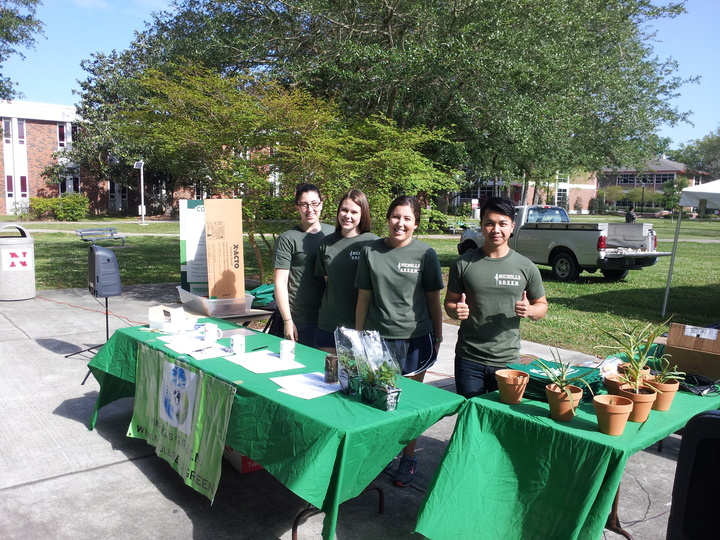 Earth Day At Nicholls State University T-Shirt Photo