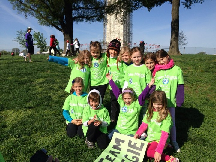 Team Maggie   Jdrf Walk To Cure Diabetes T-Shirt Photo