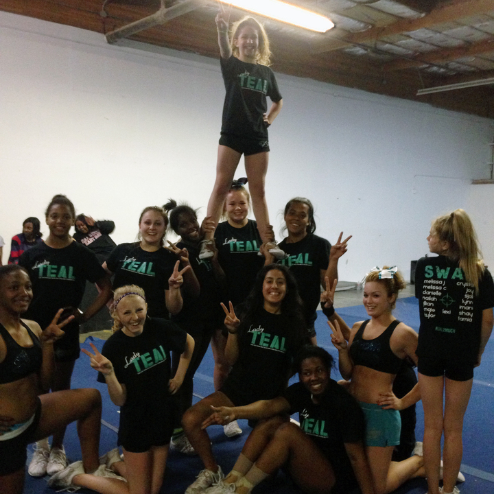 Lady Teal (Swat Allstar Cheer Lvl 2) T-Shirt Photo