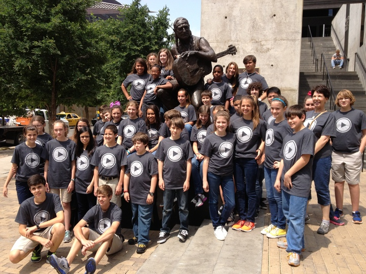 """Playing"" With Willie In Austin T-Shirt Photo"