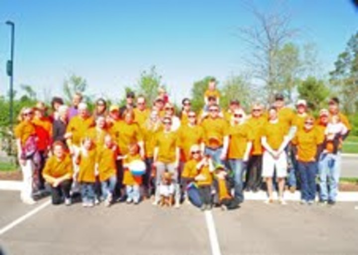 2013 Walk Ms (Team Rosebud) T-Shirt Photo