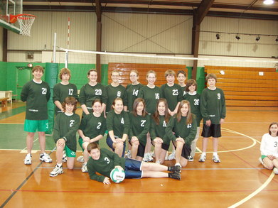 The Spirits Volleyball Team T-Shirt Photo