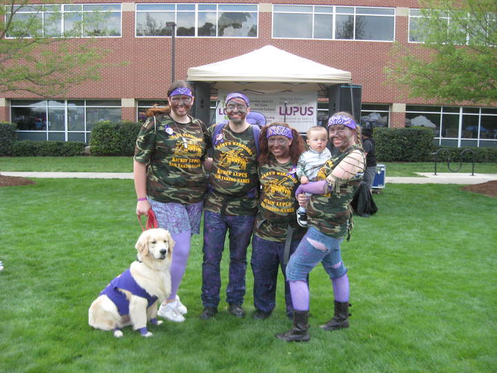 Mary's Warriors  Walk For Lupus T-Shirt Photo