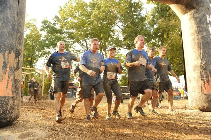 Tough Mudders 45 And Over T-Shirt Photo