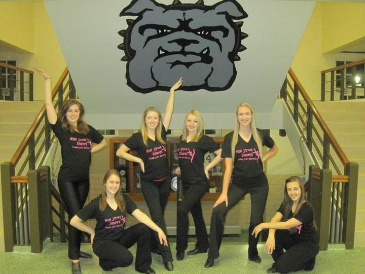 Tsu High Street Dancers T-Shirt Photo