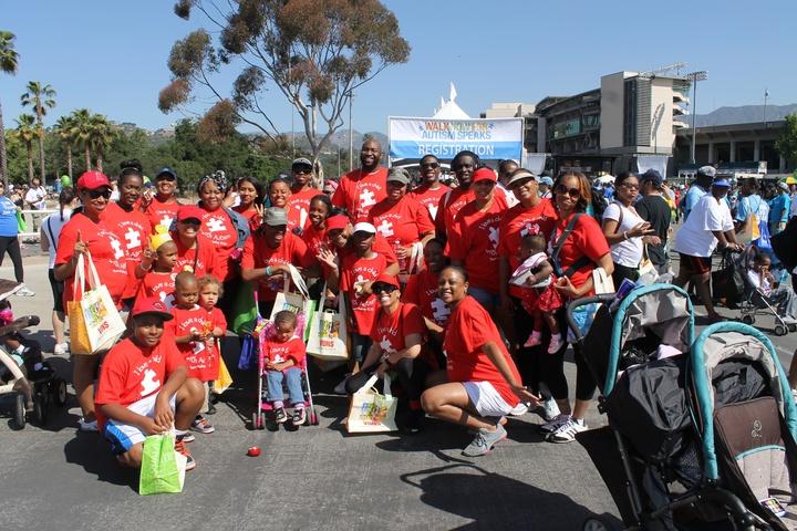 2013 Walk For Autism. Team Mashay T-Shirt Photo