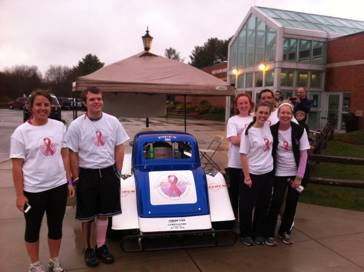 Team Fearless At The 2013 Stonehill College Relay For Life L T-Shirt Photo