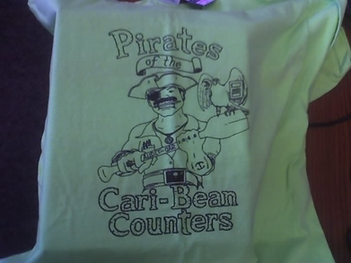 Pirates Of The Cari Bean Counters T-Shirt Photo