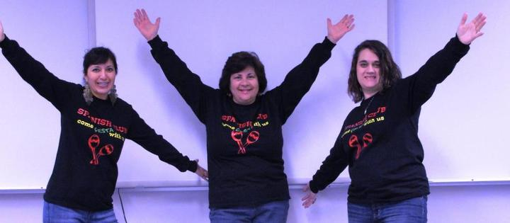 Models: Spanish Club Teachers  T-Shirt Photo