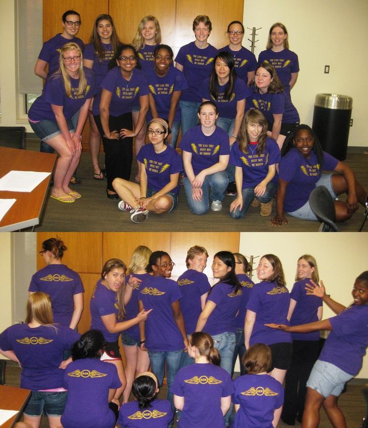 Nerd Girls Rule! T-Shirt Photo