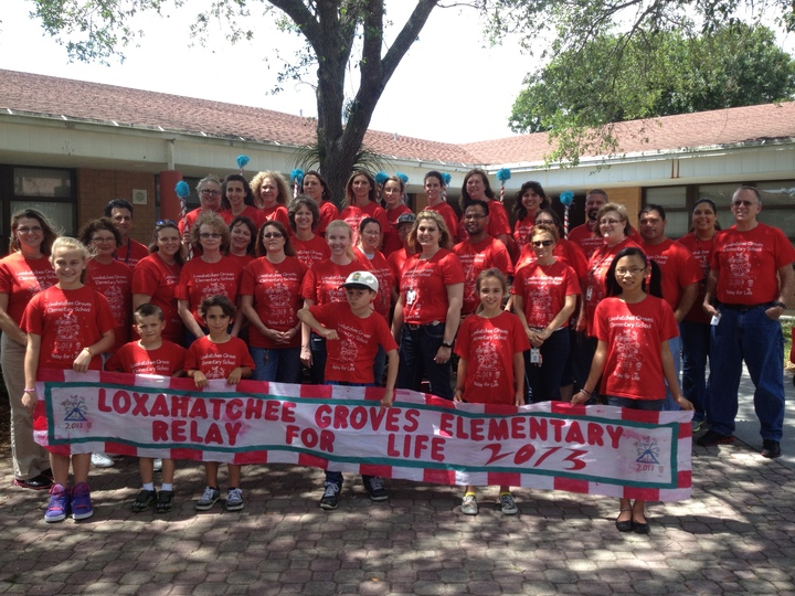 Lges Relay For Life 2013 Team Picture T-Shirt Photo