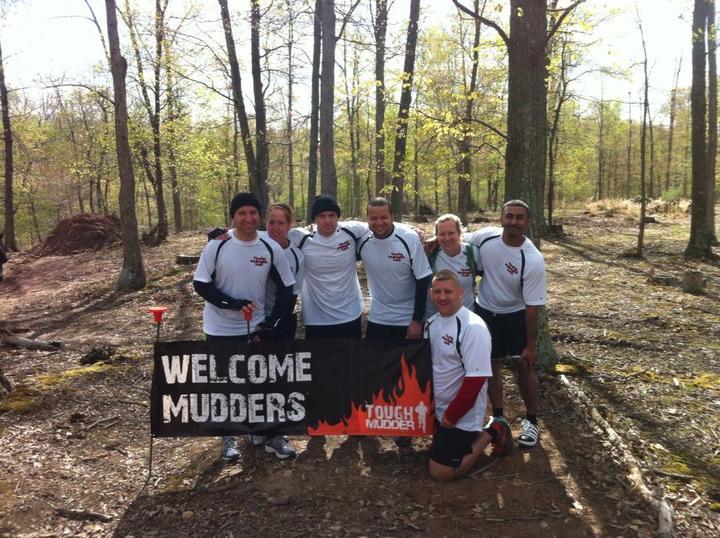 Team Deadbug Survives The Tough Mudder T-Shirt Photo