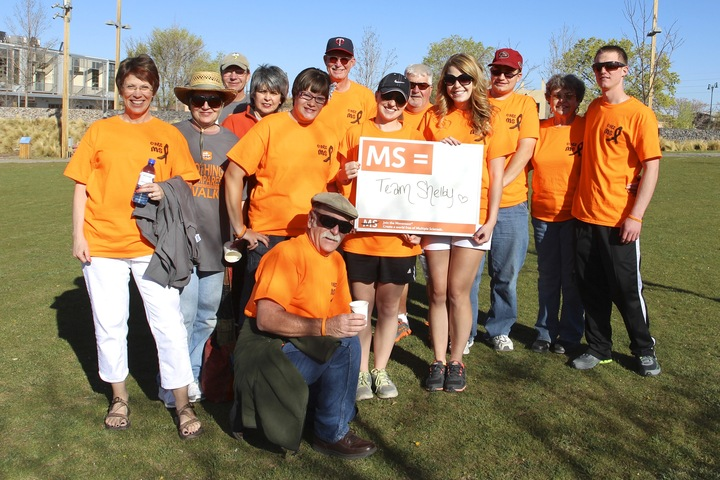 Team Shelby   Walk Ms: Santa Fe T-Shirt Photo