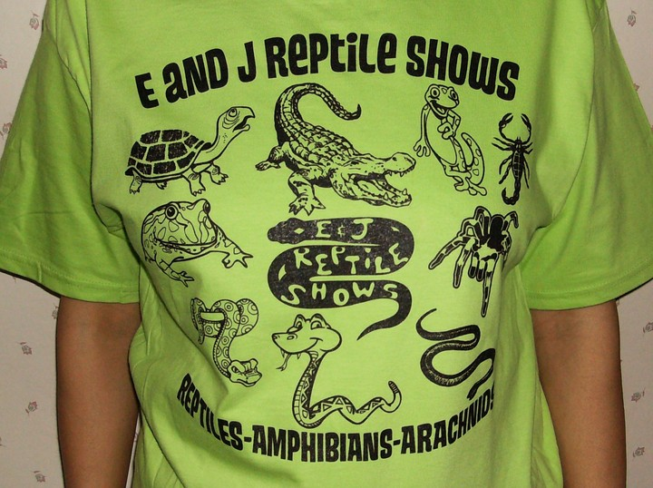 A Shirt With Scales & Teeth T-Shirt Photo