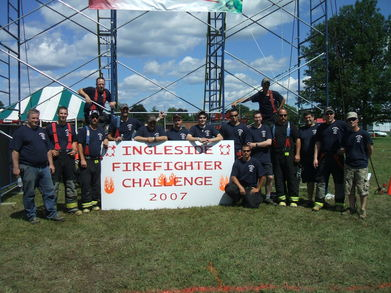 Ingleside Firefighter Challenge T-Shirt Photo