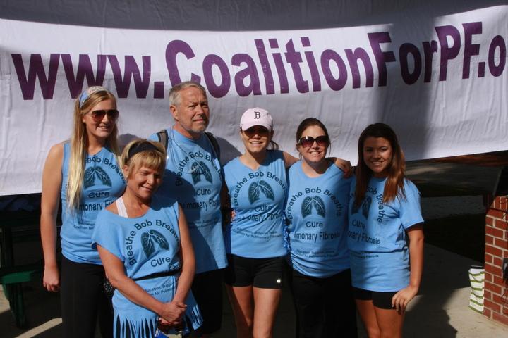 Cure Pulmonary Fibrosis  T-Shirt Photo