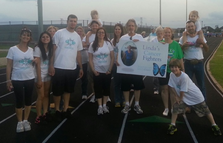 Linda's Cancer Fighters T-Shirt Photo