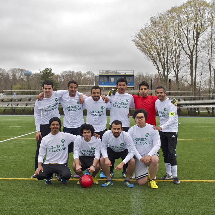 Green Falcons T-Shirt Photo