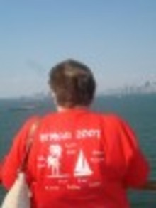 De Witte 40th Anniversary Leaving Ny Harbour T-Shirt Photo