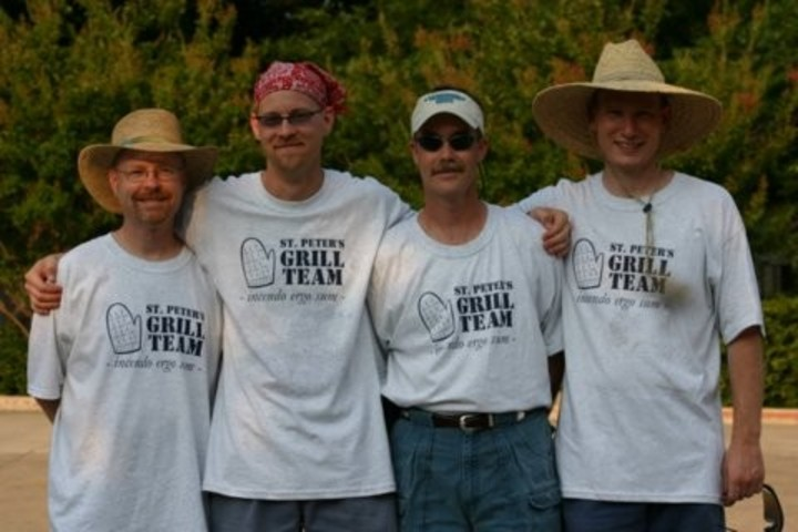 St. Peter's Grill Team T-Shirt Photo