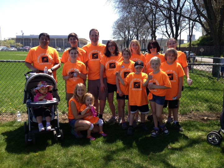 Quentin's Quest For A Cure T-Shirt Photo