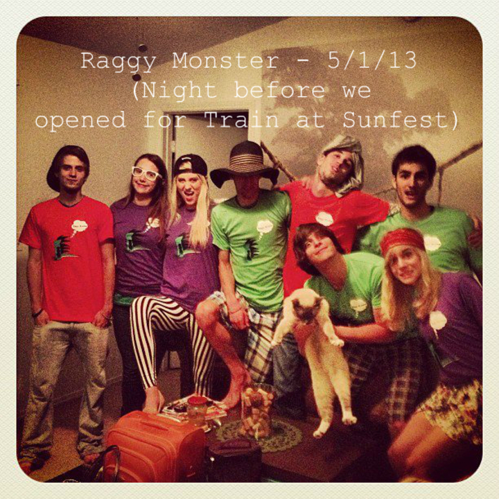 Raggy Monster (Indie Rock Band) T-Shirt Photo
