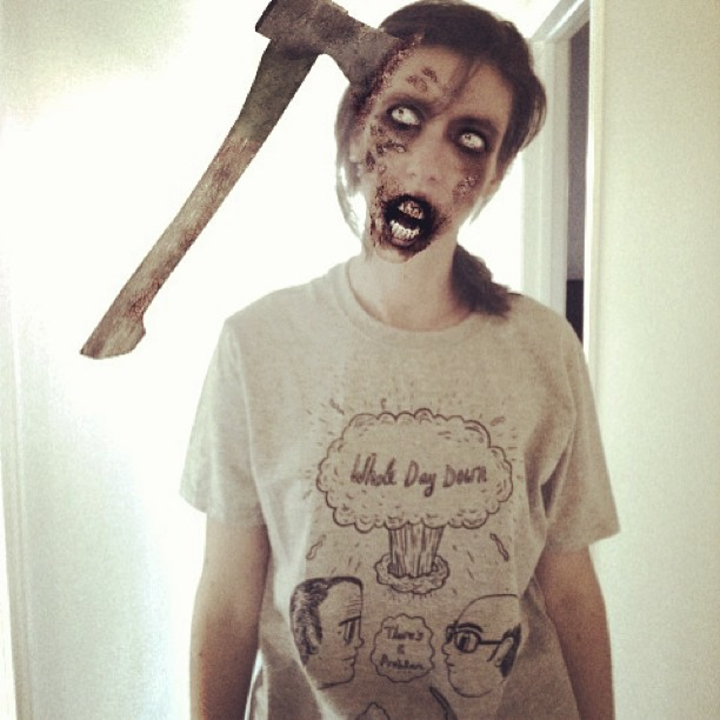 Zombie Ink T-Shirt Photo