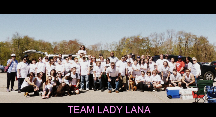 Team Lady Lana, Hike For Hope T-Shirt Photo