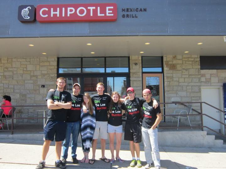 The Burrito Tour T-Shirt Photo