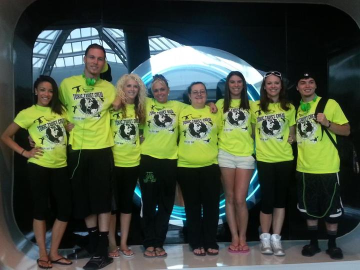 Toxic Twist Crew At The Airport In Florida! T-Shirt Photo