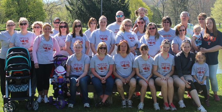 Team Hands For Hope   Hope For A Cure  T-Shirt Photo