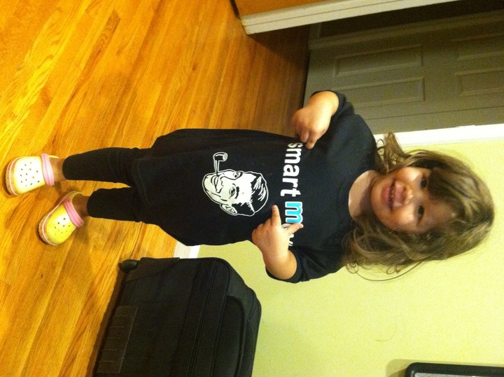 Desi Promoting Smart Move T-Shirt Photo