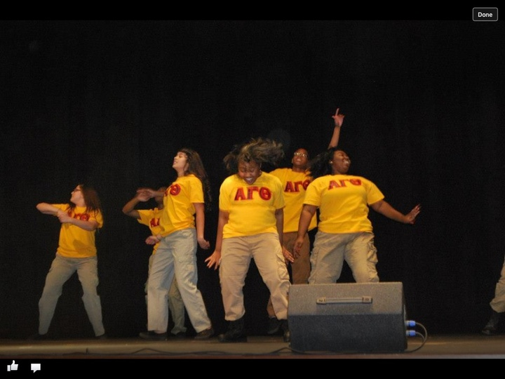 Step Team In Action T-Shirt Photo