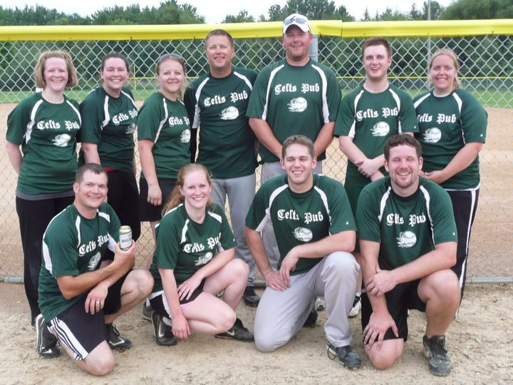 Softball Digs T-Shirt Photo