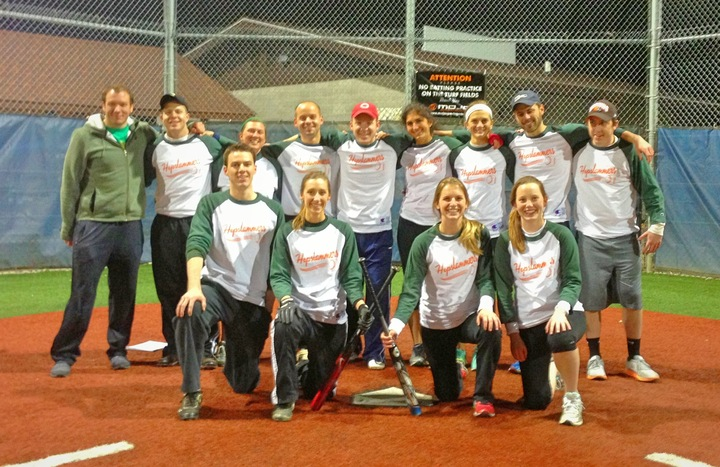 The Hopslammers Softball Team T-Shirt Photo