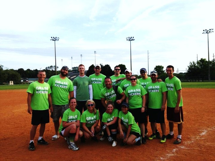 Grasskickers Kickball T-Shirt Photo