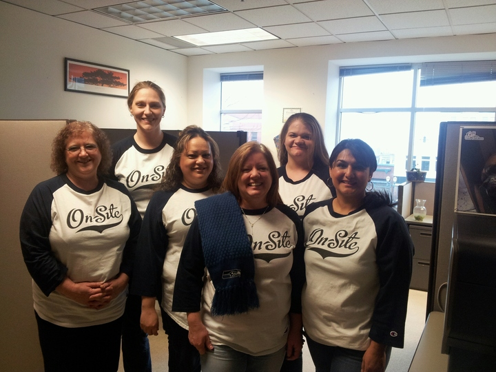 On Site Client Services Staff Washington Office T-Shirt Photo