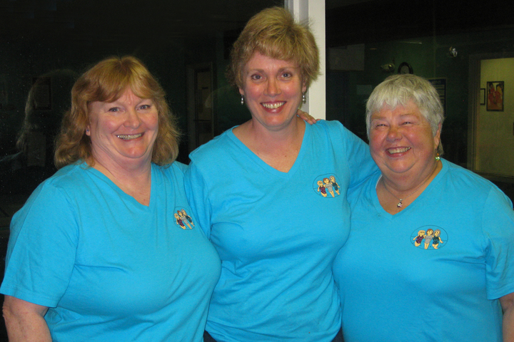 Having A Great Time At Swim Aerobics T-Shirt Photo