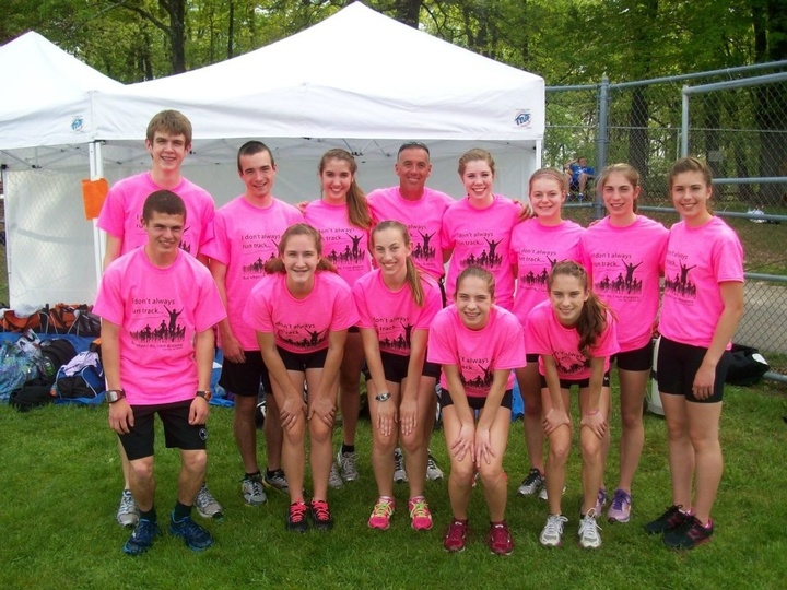 2013 York Suburban Distance Team T-Shirt Photo