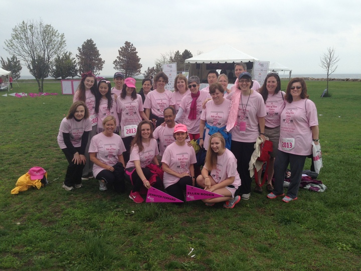 A Tale Of Two Titties Raises Over $6,000 For Komen Ct T-Shirt Photo