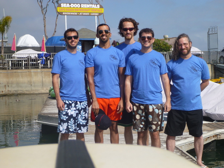 Connectifier Goes Kayaking In New Custom Ink T Shirts! T-Shirt Photo