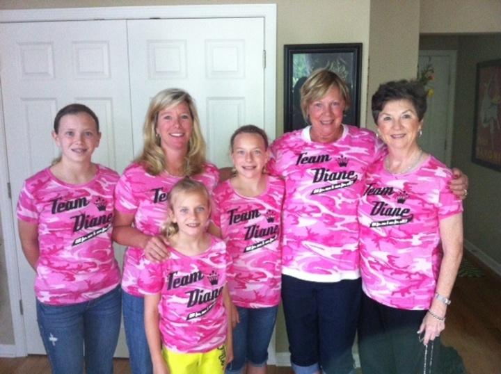 Team Diane T-Shirt Photo